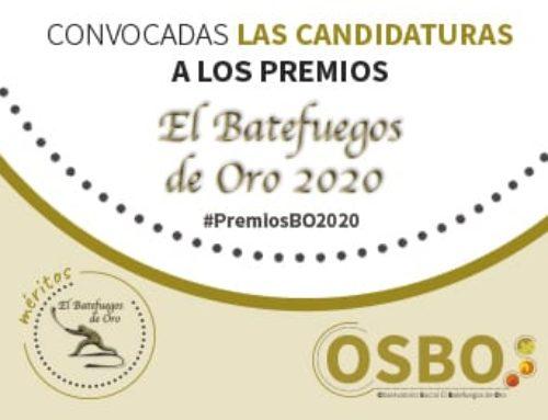 Convocados los Premios Batefuegos de Oro 2020