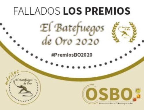 Fallados los Premios Batefuegos de Oro 2020
